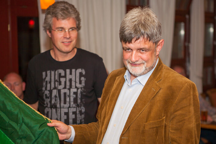 Der Neubürger Gerhard Failing wird vereidigt