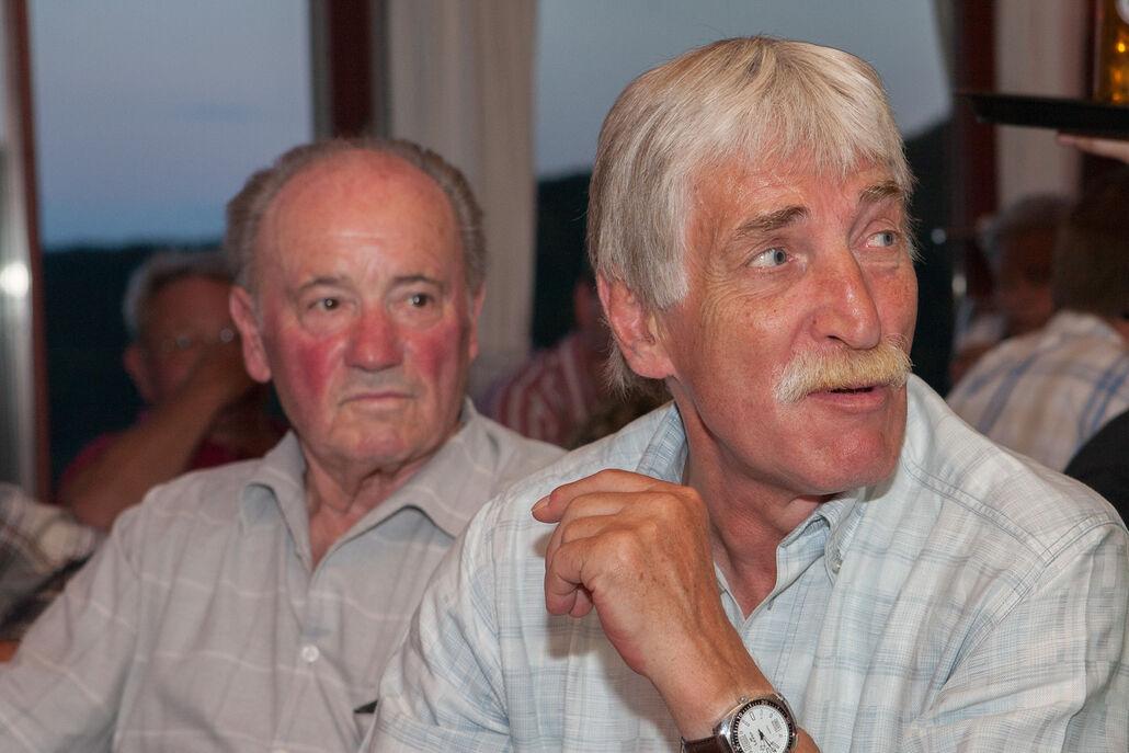 Helmut Schäfer und Fred-Michal Weber