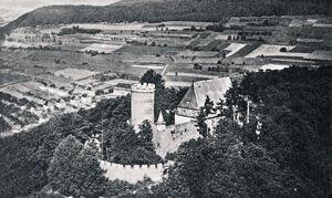 Blick auf den Hasenlauf ca. 1950